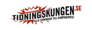 Logotype - Tidningskungen